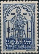 Portugal 1931 5th Centenary of the Death of St. Nuno Álvares Pereira e
