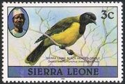 Sierra Leone 1982 Birds from 1980 Imprint 1982 c