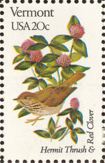 United States of America 1982 State birds and flowers zq