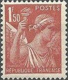 France 1944 Iris (3rd Group) d