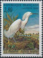 France 1995 Birds by J.J. Audubon a