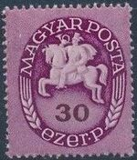 Hungary 1946 Post Rider - Definitives e