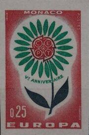 Monaco 1964 Europa aa