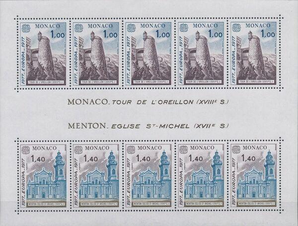 Monaco 1977 EUROPA - Countryside c