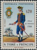 St Thomas and Prince 1965 Military Uniforms c