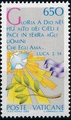 Vatican City 1986 International Peace Year d