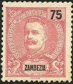 Zambezia 1898 D. Carlos I h