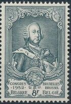 Belgium 1952 World Post Congress i