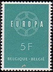 Belgium 1959 Europa b