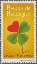Belgium 1999 Greetings Stamps d