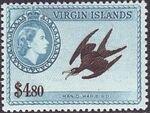 British Virgin Islands 1956 Queen Elizabeth II and Views m