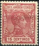 Elobey, Annobon and Corisco 1907 King Alfonso XIII g