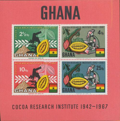 Ghana 1968 Ghana's Cocoa Production h
