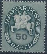 Hungary 1946 Post Rider - Definitives f