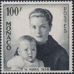 Monaco 1958 Birth of Prince Albert Alexander Louis a