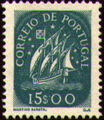 Portugal 1943 Portuguese Caravel (2nd Issue) j.jpg