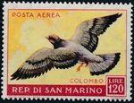 San Marino 1959 Birds d