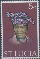 St Lucia 1973 Women's Headdresses a