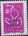 St Pierre et Miquelon 2005 Definitive Issue - Marianne des Français j