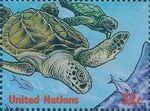 United Nations-New York 1998 International Year of the Ocean b