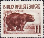 Albania 1961 Native Animals c