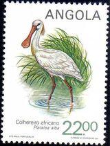 Angola 1984 Local Birds e