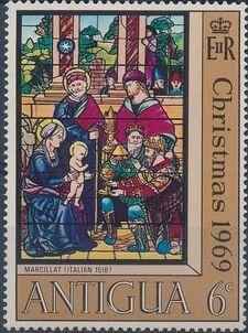 Antigua 1969 Christmas a