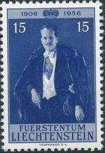 Liechtenstein 1956 50th Birthday of Prince Franz Joseph II b