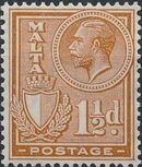 Malta 1926 King George V and Coat of Arms d