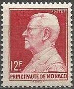 Monaco 1948 Prince Louis II of Monaco (1870-1949) d