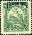 Nicaragua 1895 Official Stamps Overprinted in Blue j.jpg