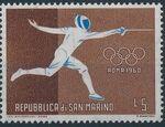 San Marino 1960 17th Olympic Games in Rome e