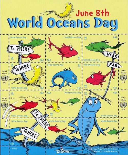 United Nations-New York 2013 World Oceans Day - June 8th g
