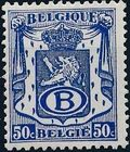 Belgium 1946 Coat of Arms - Official Stamps c