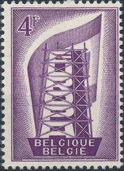 Belgium 1956 Europa b