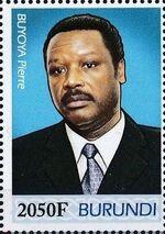 Burundi 2012 Presidents of Burundi - Pierre Buyoya d