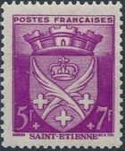 France 1942 Coat of Arms (Semi-Postal Stamps) l