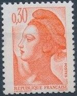France 1982 Liberty after Delacroix (1st Issue) e