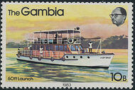 Gambia 1983 River Boats f