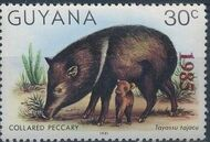 Guyana 1985 Wildlife (Overprinted 1985) f