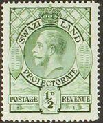Swaziland 1933 George V a