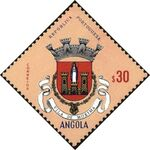 Angola 1963 Coat of Arms - (1st Serie) c