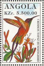 Angola 1996 Hummingbirds i