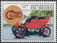 Benin 1997 Antique Automobiles b