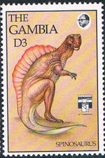 Gambia 1992 Dinosaurs i