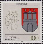 Germany, Federal Republic 1992 Coat of Arms of the Federal States of Germany (1st Group) f