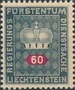 Liechtenstein 1950 Crown g
