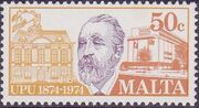 Malta 1974 Centenary of Universal Postal Union d