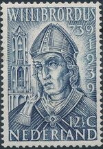 Netherlands 1939 12th Centenary of the Death of St. Willibrord b