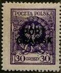 Poland 1925 Polish Offices Abroad - Danzig i